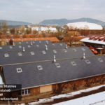 Swiss horse barns