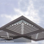 Transit BIPV canopy
