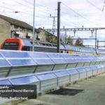 Swiss pedestrian barrier