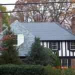 Chevy Chase Maryland home. Sunslates on a tudor.